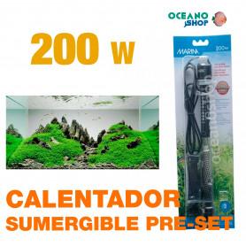 Calentador Sumergible Pre-set Marina - 200w