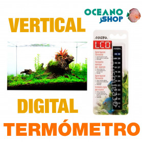 Termómetro Vertical Digital Aquarius MARINA - Minerva