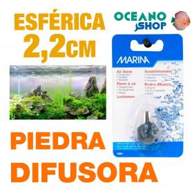 Piedra Difusora Esférica 2,2 cm Marina
