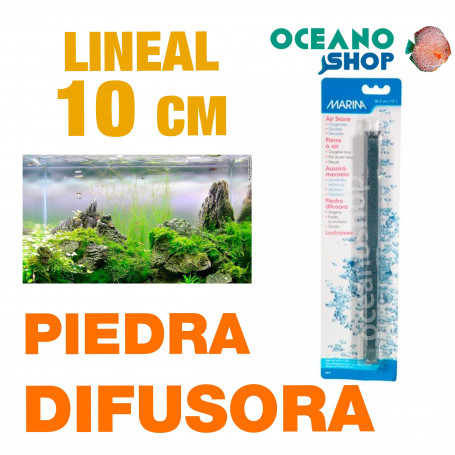 Piedra Difusora Lineal Marina 10 cm