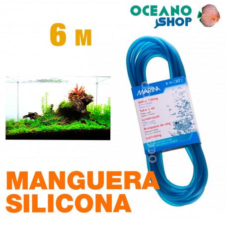 Manguera Silicona Marina - 6m