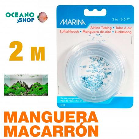 Manguera Macarrón PVC Marina 2m