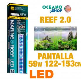 FLUVAL LED MARINE & REEF 2.0 PANTALLA - 59w 122-153cm