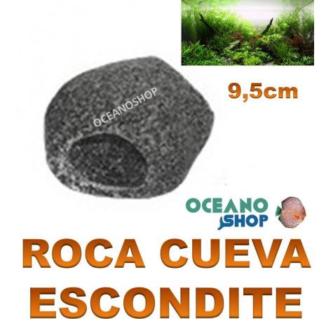 roca cueva escondite ica 9,5cm acuario ciclidos