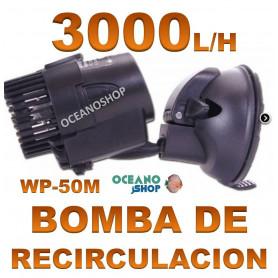 BOMBA RECIRCULACION de 3000L/h 3w Vibracion para Acuario, Simulador de Olas