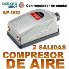 aireador xilong ap 002 2 salidas compresor acuario aire