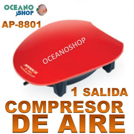 aireador jeneca 1salida ap 8801 compresor acuario