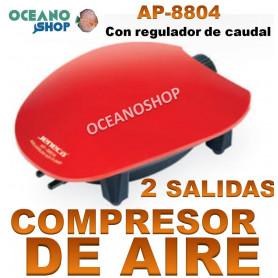 aireador jeneca 2 salidas ap 8804 compresor acuario