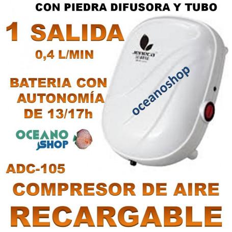 AIREADOR JENECA BATERIA RECARGABLE ADC 105 1 SALIDA