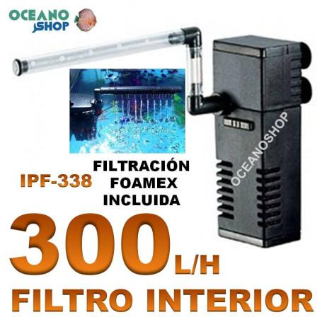 Filtro interior 300L/H 5W ipf-338