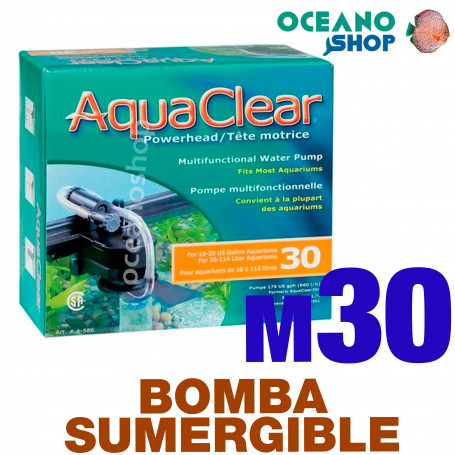 Bomba Sumergible 30 Aquaclear - 30