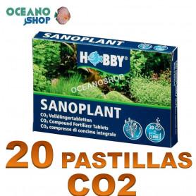 sanoplant 20 pastillas co2 hobby acuario plantado plantas