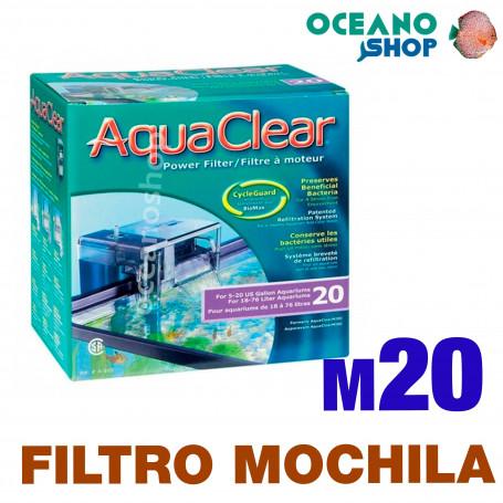 Aquaclear Filtro Mochila - 20