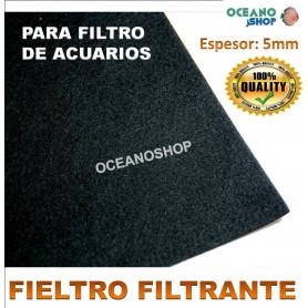 fieltro filtrante foamex acuario medidas filtro barato