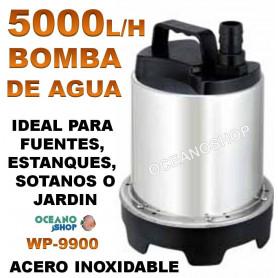 bomba agua sumergible wp 9900 5000 lh 105 w sobo