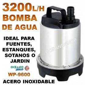 bomba agua sumergible sobo wp 9600 3200 lh 80w