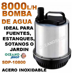bomba agua sumergible sdp 10800 8000 lh 250w asian star