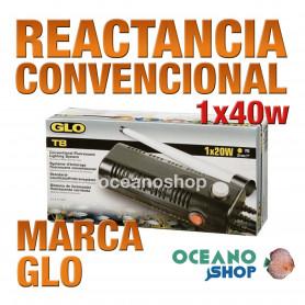 Reactancia Convencional 1 Tubo T8 GLO - 40w