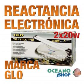 Reactancia Electronica 2 Tubos T8 GLO - 2x20w