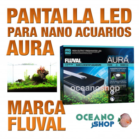 Fluval Led Nano Pantalla - Aura