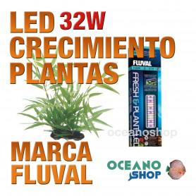 FLUVAL LED FRESH & PLANTA 2.0 PANTALLA - 32w 61-85cm