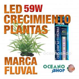 FLUVAL LED FRESH & PLANTA 2.0 PANTALLA - 59w 122-153cm