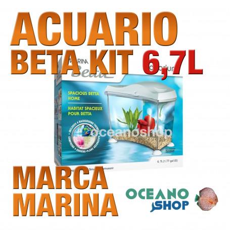 Betta Kit 6,7 l MARINA bettera acuario pecera