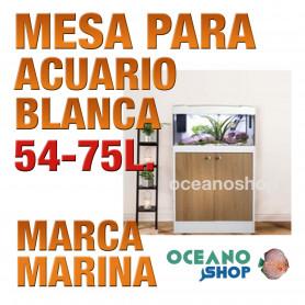 Mesa 2 Puertas Acuario 54/63 l MARINA - 54/63lts Blanco