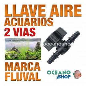 FLUVAL LLAVE CONTROL AIRE 2 VIAS