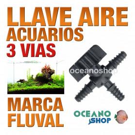 FLUVAL LLAVE CONTROL AIRE 3 VIAS