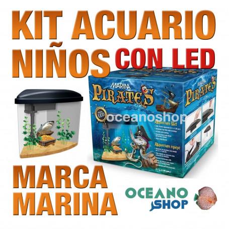 KIT DE ACUARIO PARA NIÑOS MARINA