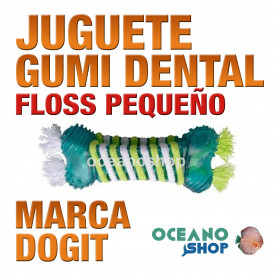 DOGIT GUMI DENTAL FLOSS Peq.