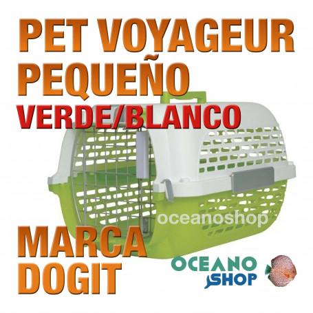 DOGIT PET VOYAGEUR Pequeño VERDE/BLANCO