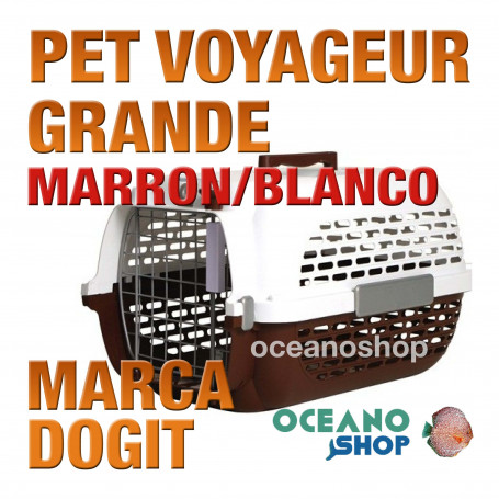 DOGITPETVOYAGEURGrande MARRON/BLANCO
