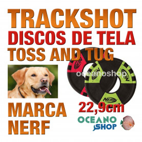 TRACKSHOT TOSS AND TUG DISCO, 22,9cm