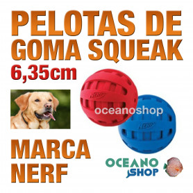 SQUEAK CHECKER PELOTA, 6,35cm