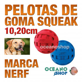 SQUEAK CHECKER PELOTA, 10,20cm