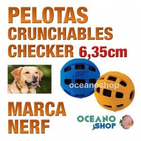 CRUNCHABLE PELOTA CHECKER 6,35cm