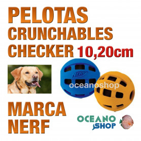 CRUNCHABLE PELOTA CHECKER 10,20cm