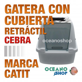 CATITGATERACONCUBIERTA RETRACTIL.CEBRA