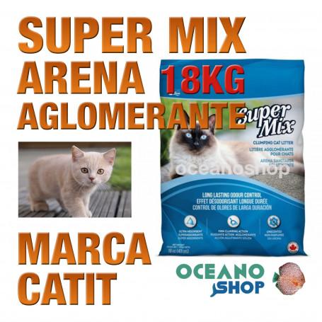 CATIT SUPER MIX ARENA AGLOMERANTE  Bolsa 18kg