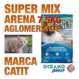 CATIT SUPER MIX ARENA AGLOMERANTE  Bolsa 7,5kg