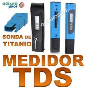 medidor tds osmosis agua sonda titanio calidad minerales prueba
