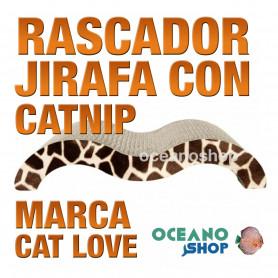CAT LOVE Rascador Jirafa con Catnip