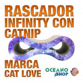 CAT LOVE Rascador Infinity con Catnip