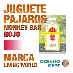 LIVING WORLD CIRCUS MONKEY BAR ROJO