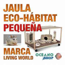 L.W GREEN ECO-HABITAT (Jaula)Peq