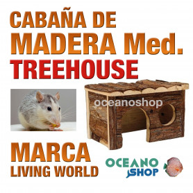 L.W. TREEHAUSE CABAÑA  MED.