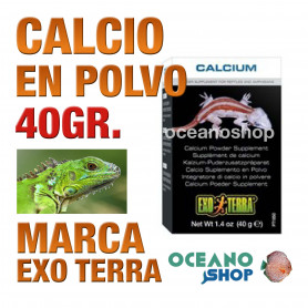 EXOTERRACALCIO EN POLVO 40g