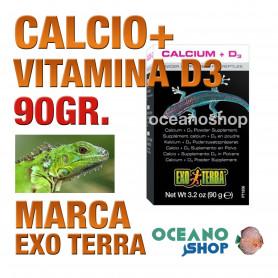 EXOTERRACALCIO+VITAMINAD3 90g